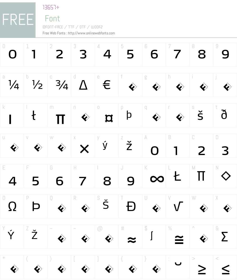 Max-RegularExpert Font Screenshots