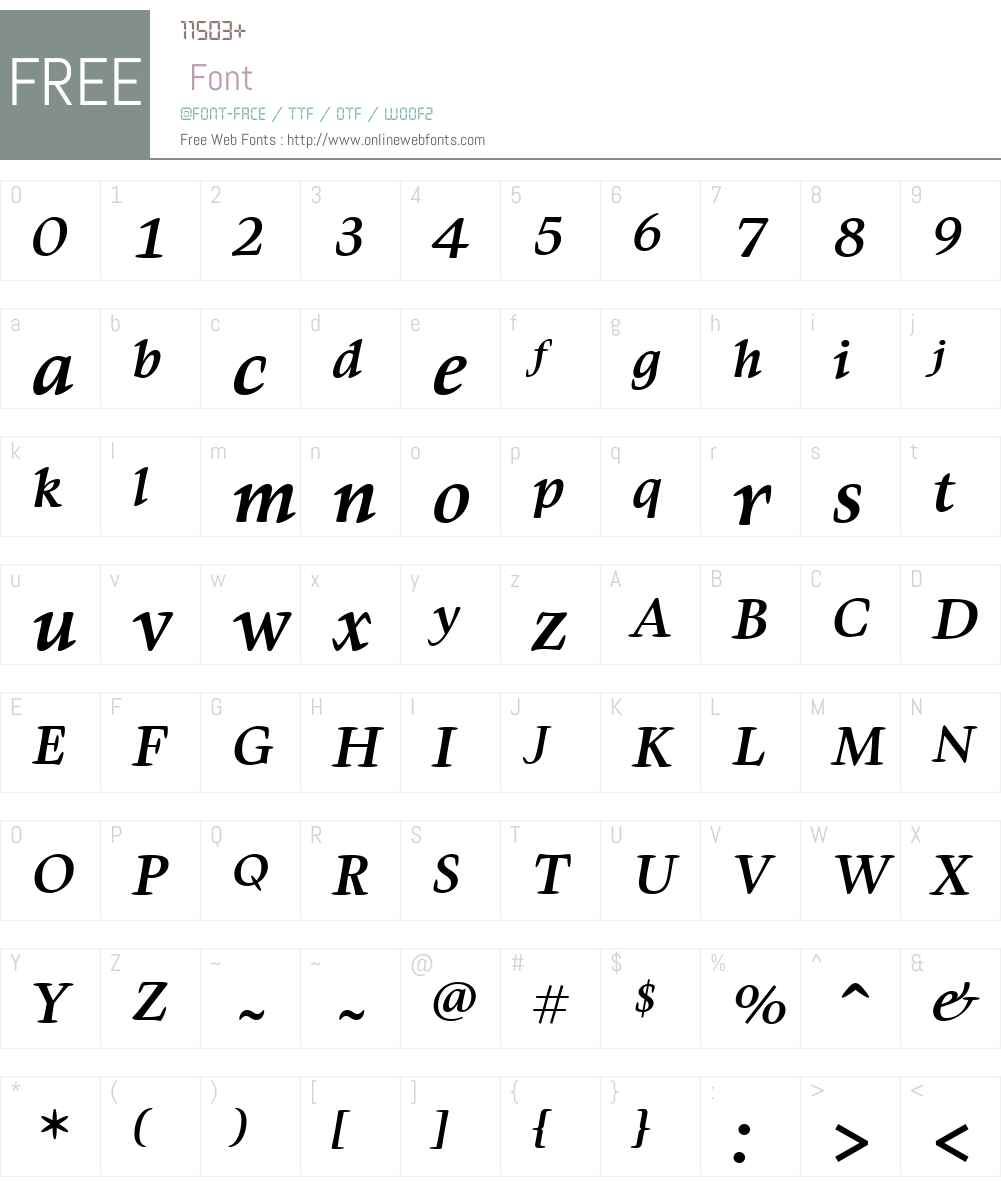 Givens Antiqua Font Screenshots
