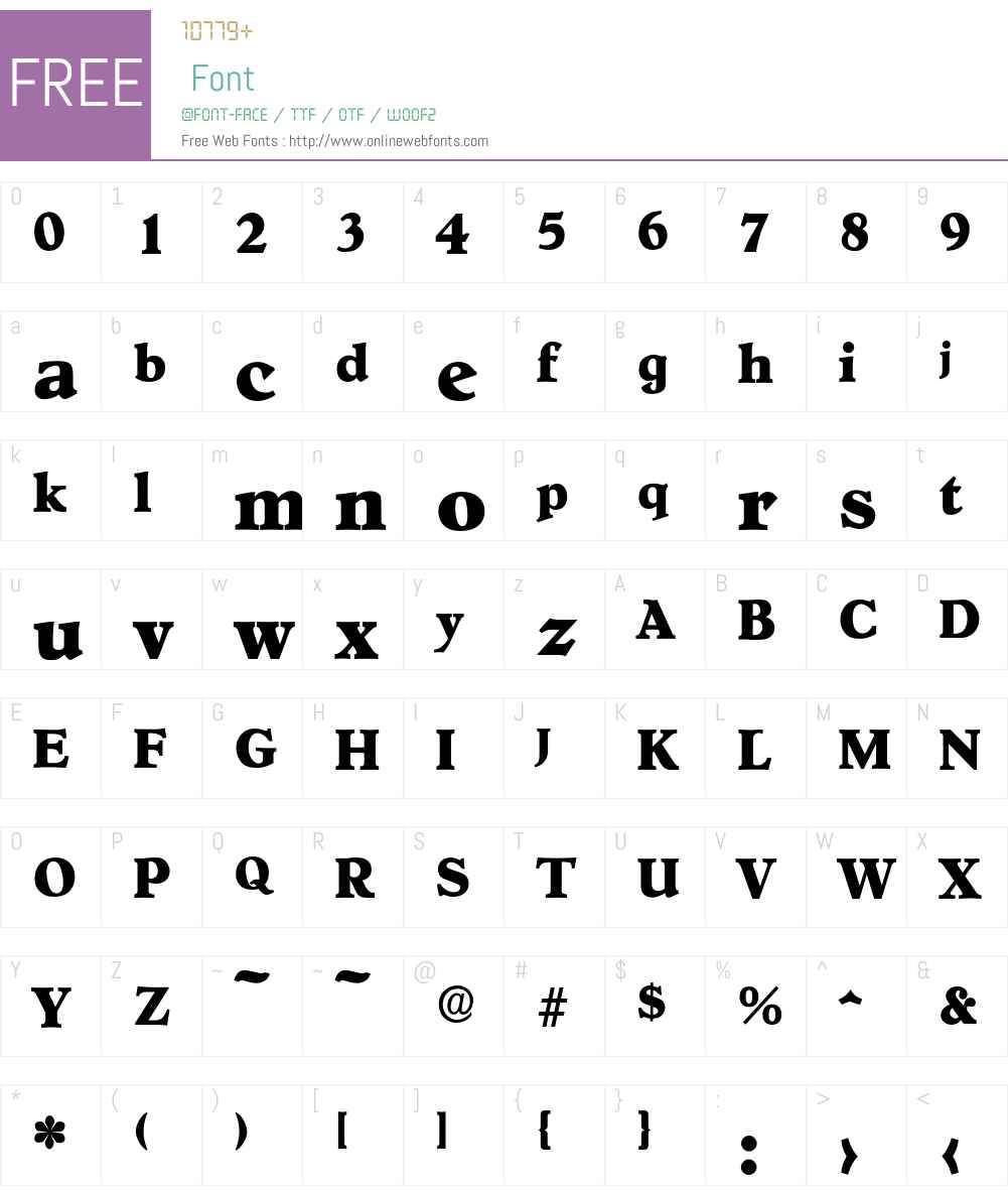 Hoboken-ExtraBold Font Screenshots