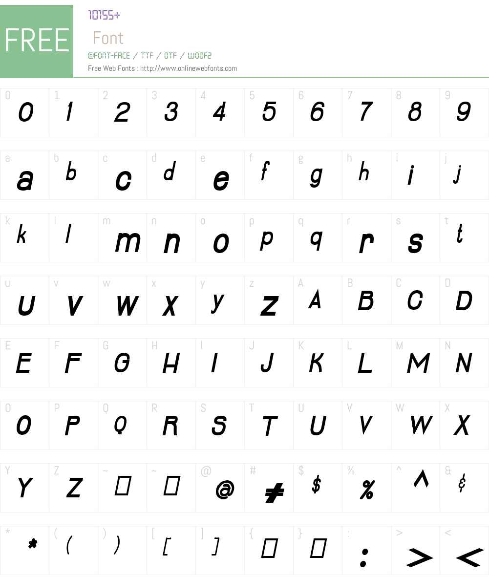 Lumiere Font Screenshots