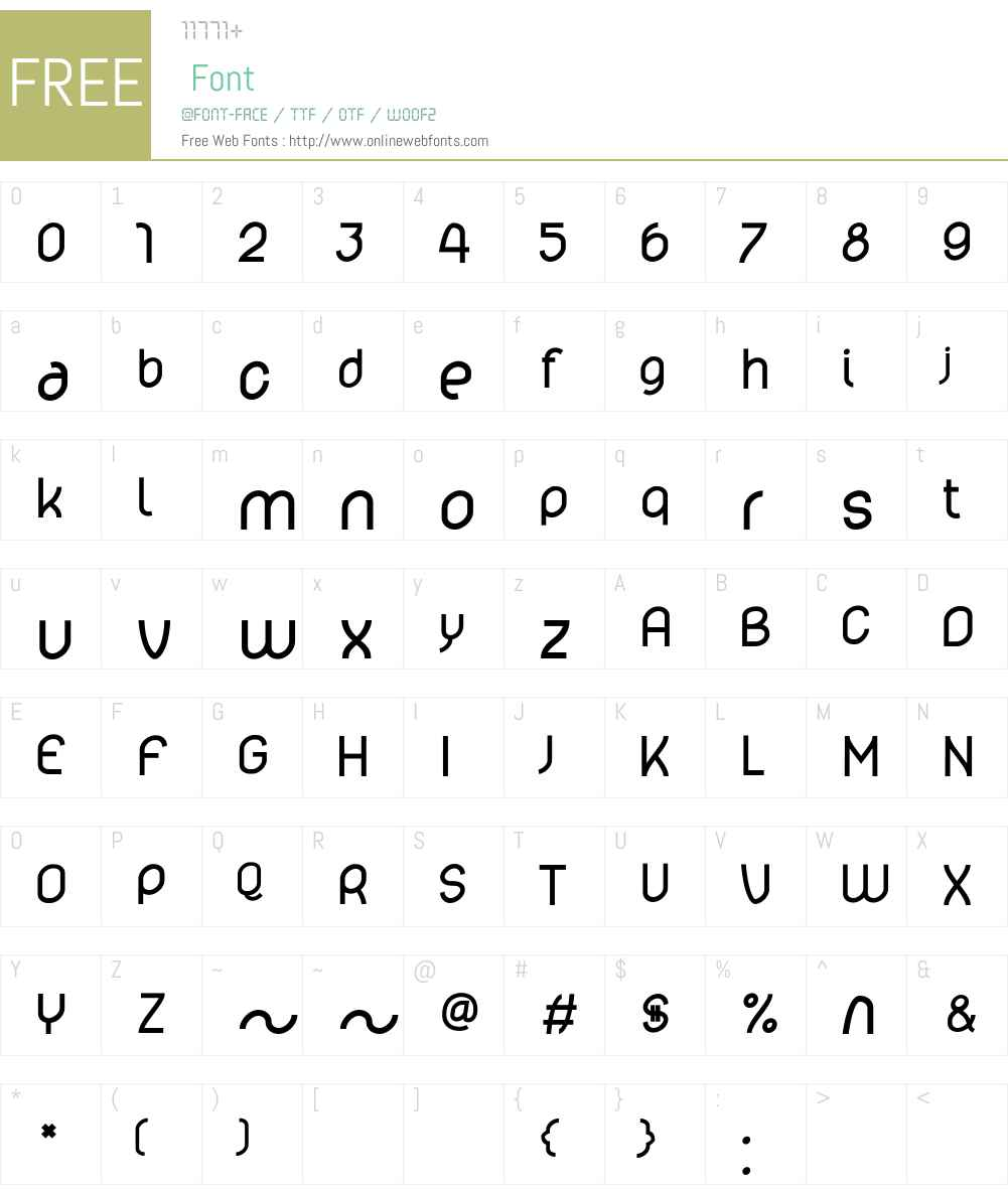 lelim Font Screenshots