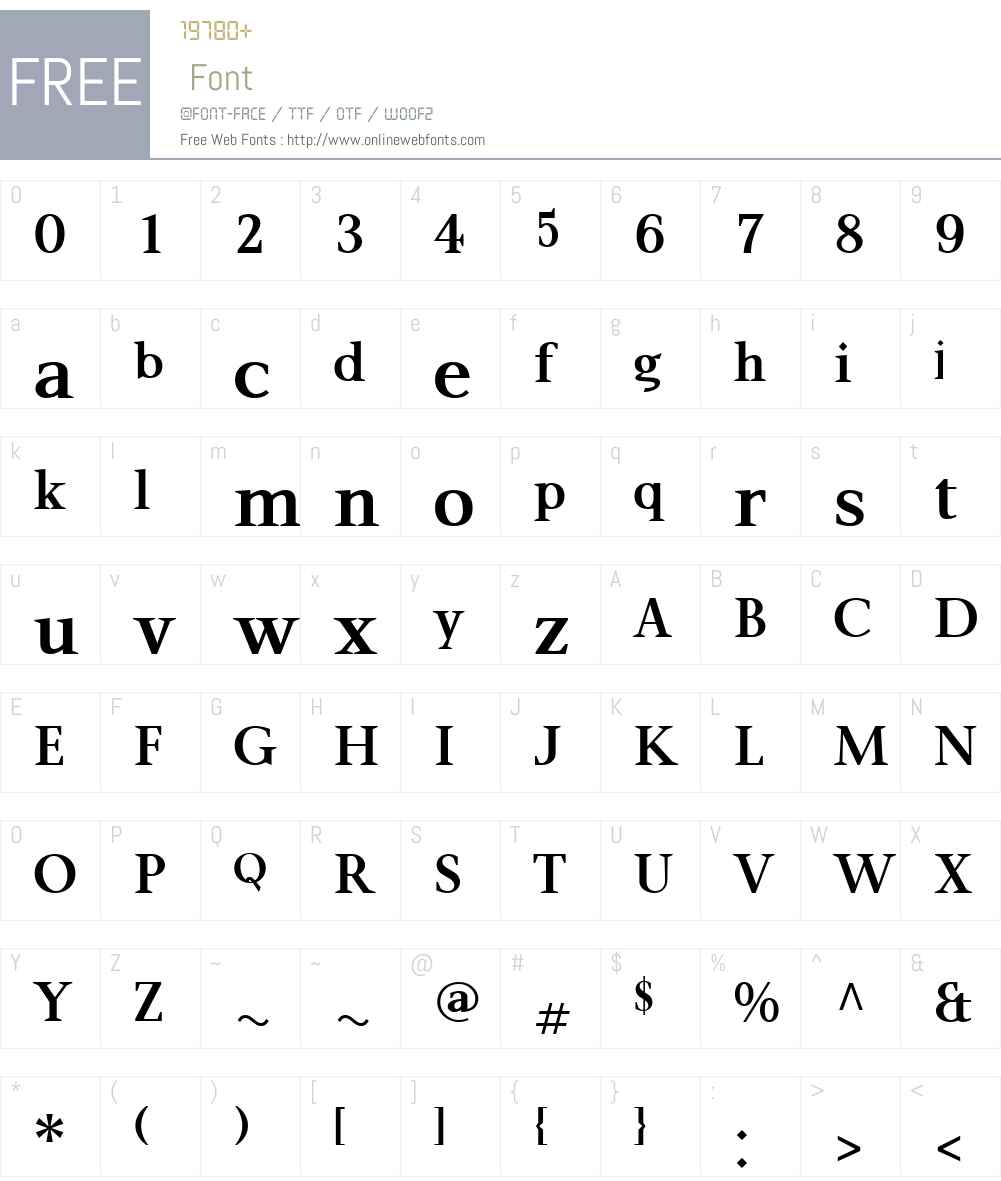 P22MaiW00-ProBold Font Screenshots