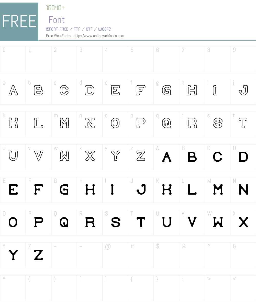 SUBMIT TO faith Font Screenshots