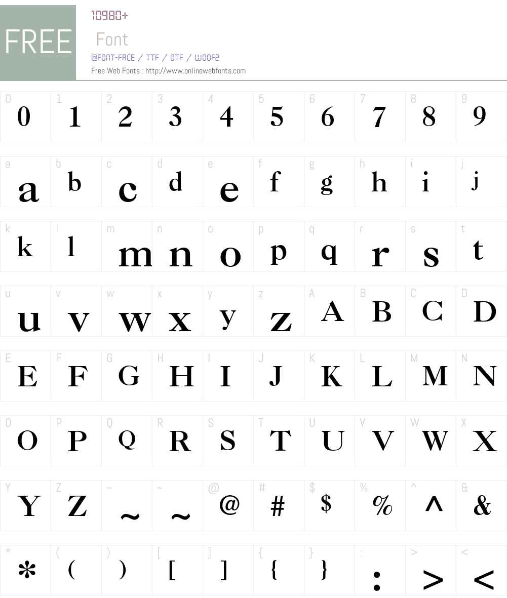 Caslon 3 LT Font Screenshots