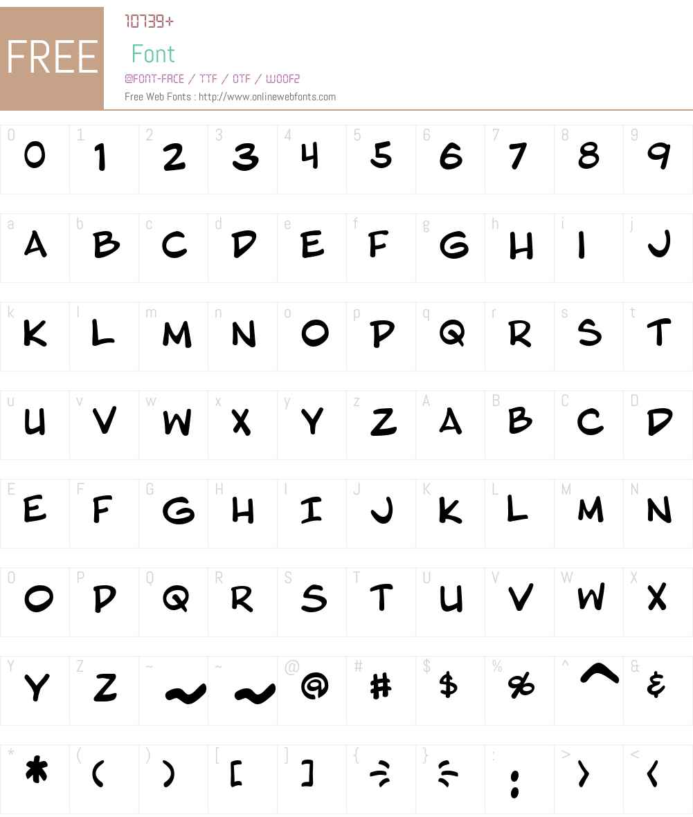 Blambot Pro Font Screenshots