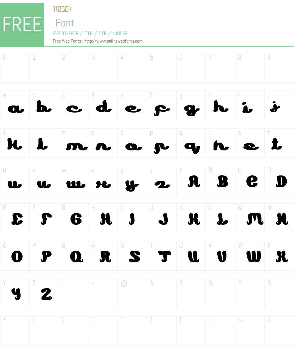 Learning Font Screenshots