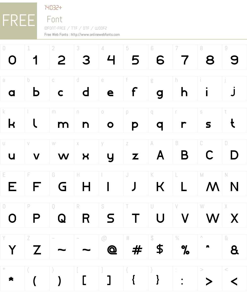 Bahasa Indonesia Font Screenshots