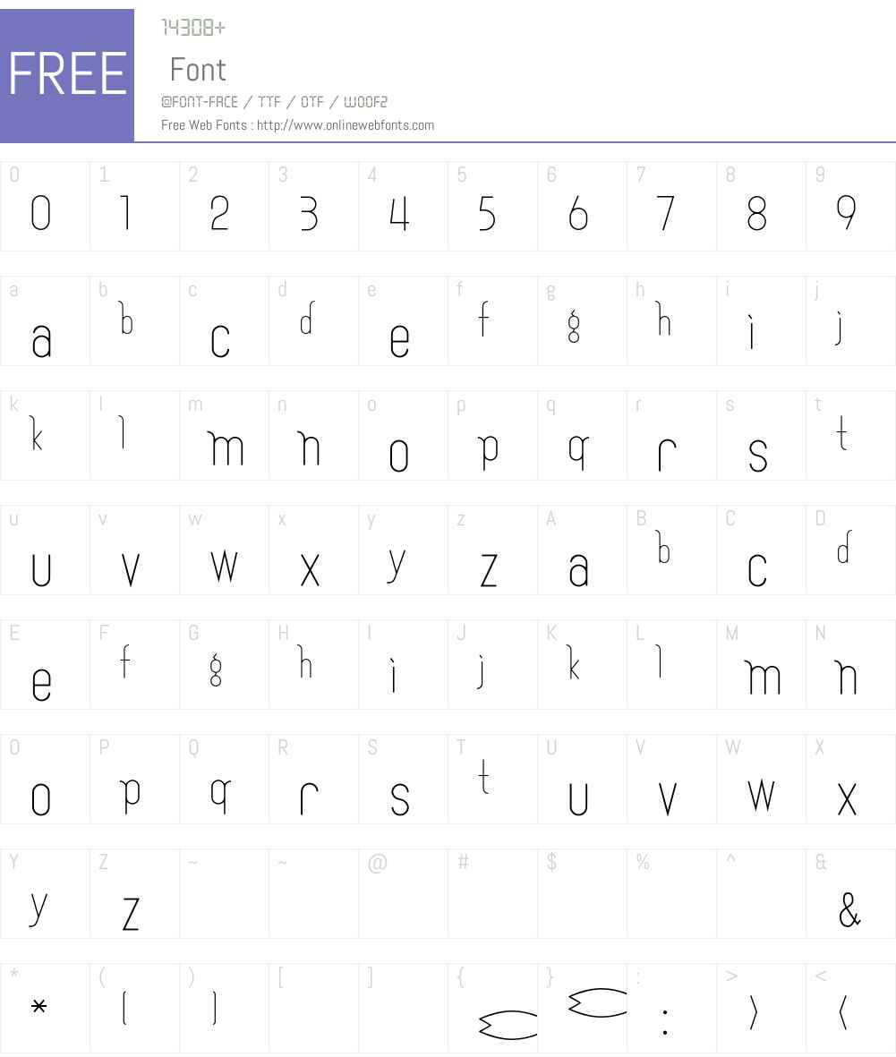Fish Font Screenshots