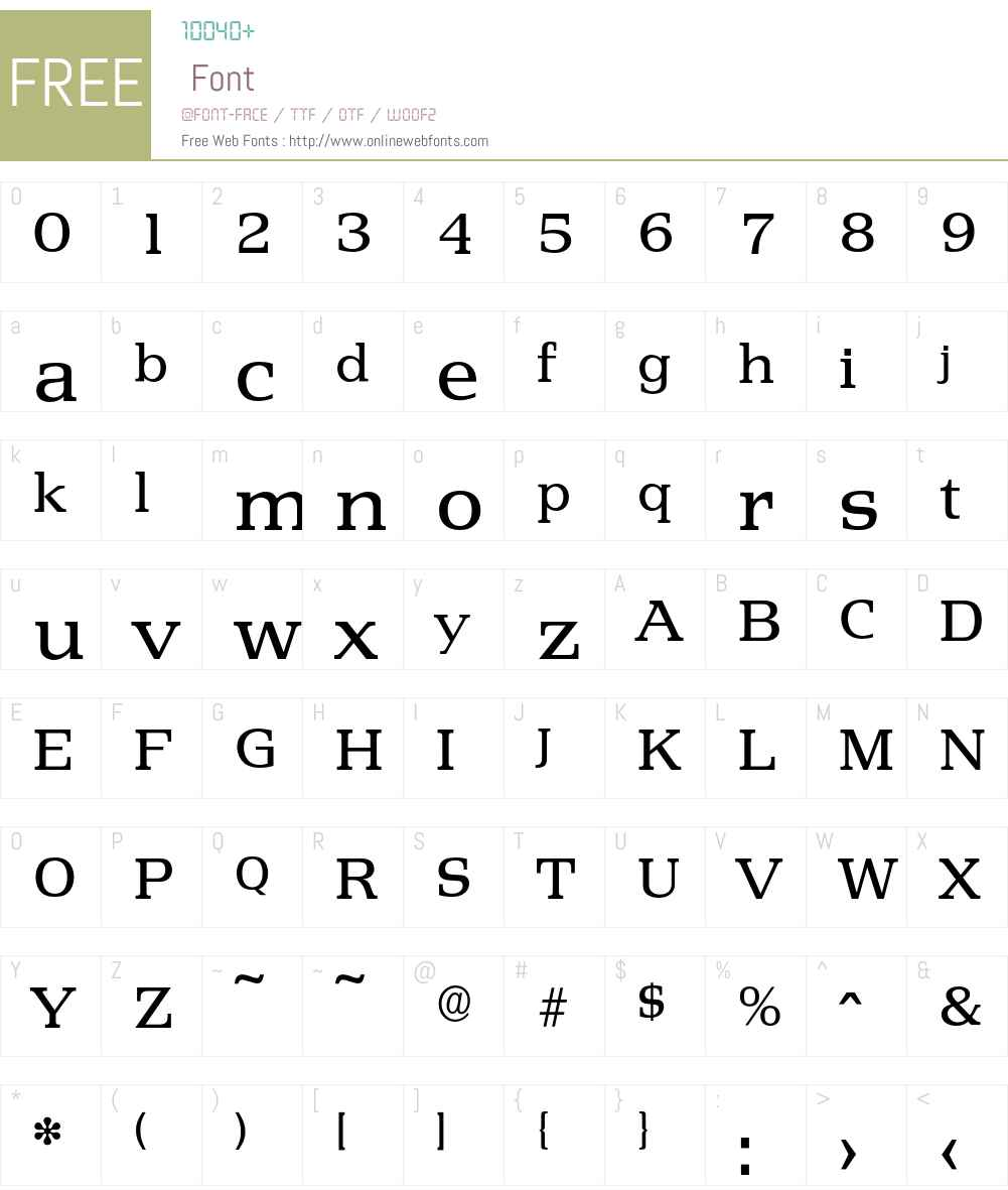 Penthouse-Regular Font Screenshots