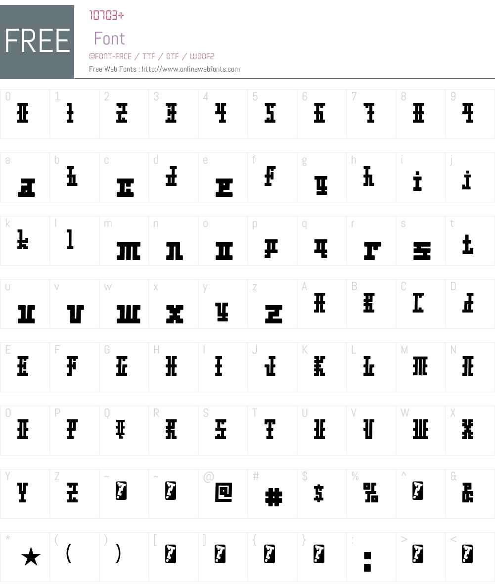 Xolto Font Screenshots