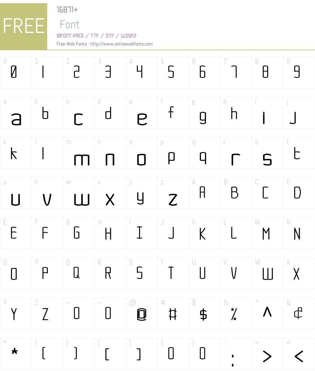 Sitah Font Screenshots