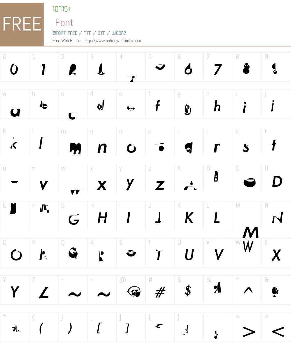 MetallophileSp8W01-MediumIt Font Screenshots