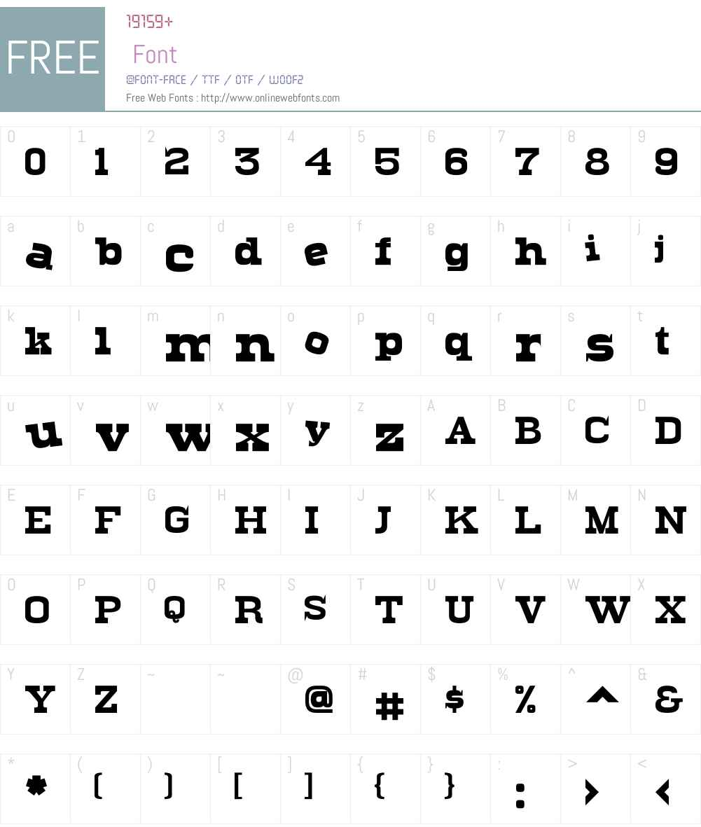Levity Font Screenshots