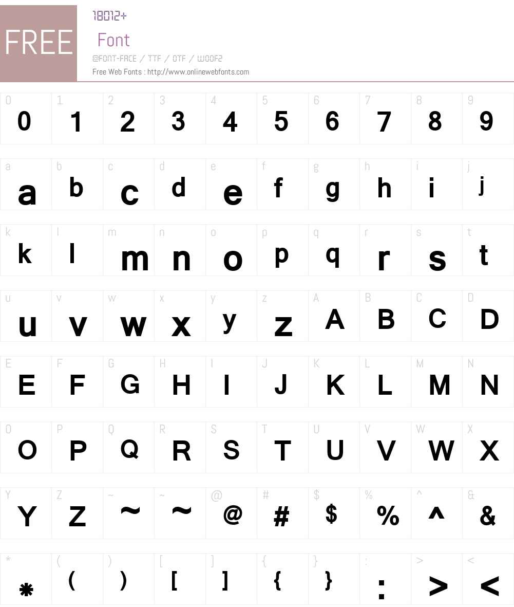 Latha Font Screenshots