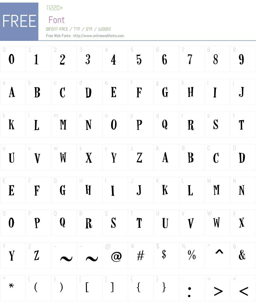 Horseshoes Font Screenshots