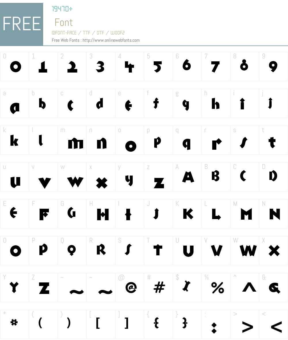 Talking Drum ITC Std Font Screenshots