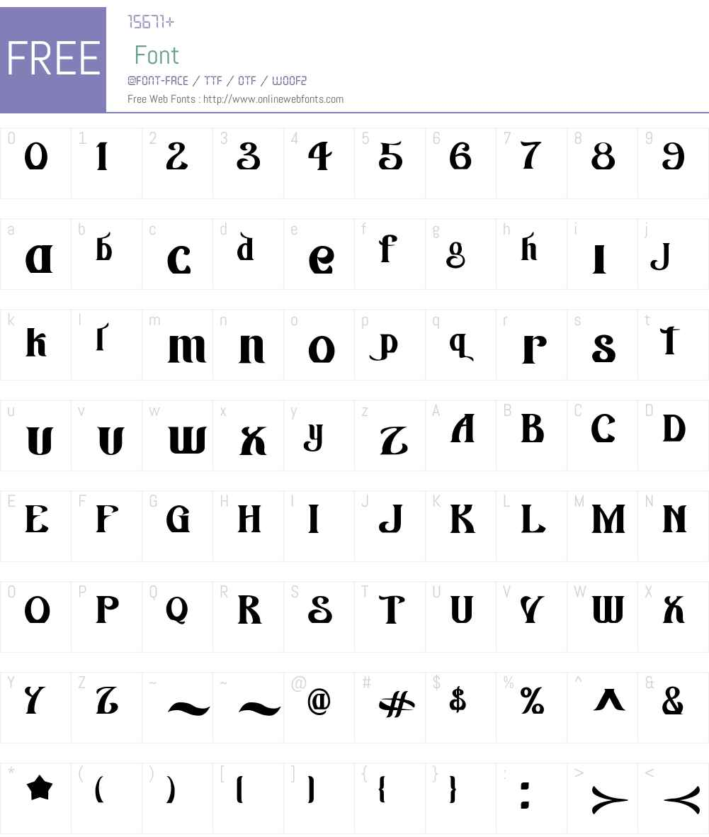 AZWingsW00-Regular Font Screenshots