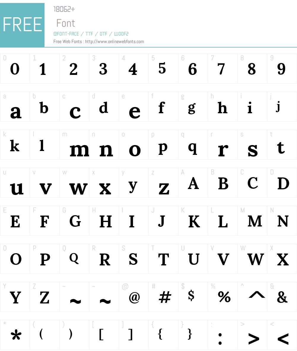 Sumana Font Screenshots