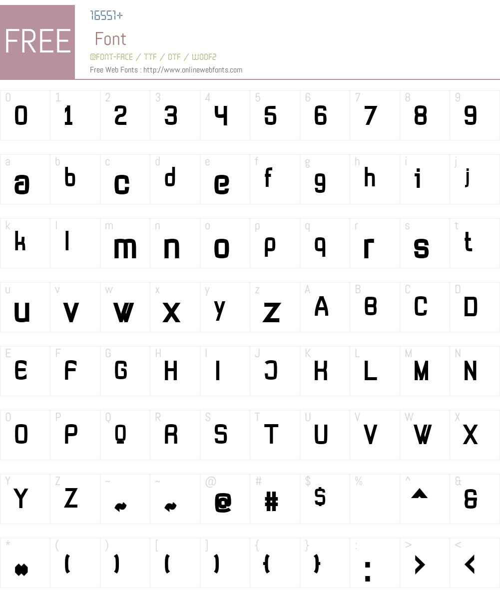 Tevegraphy Font Screenshots