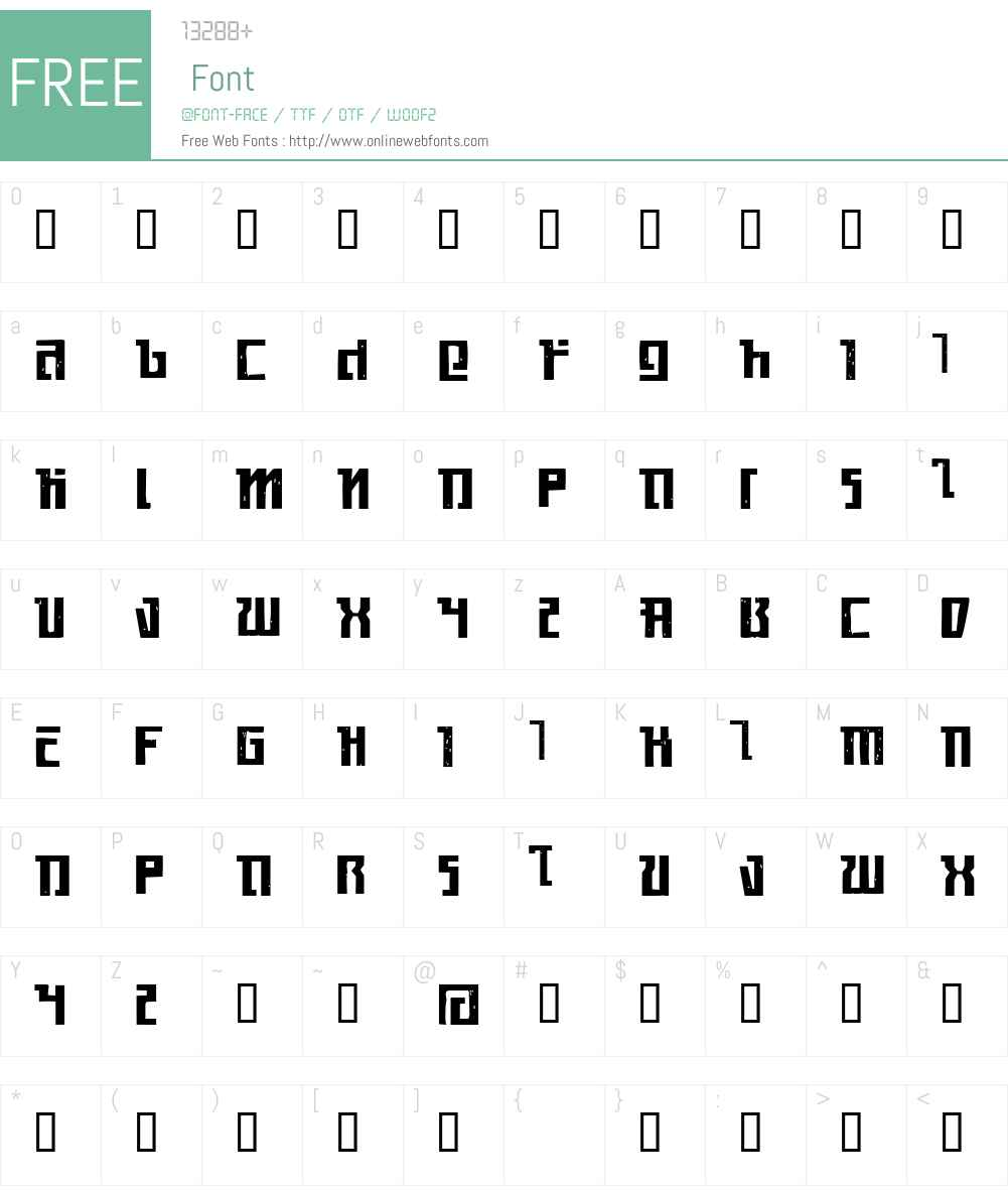 Kasikorn Font Screenshots