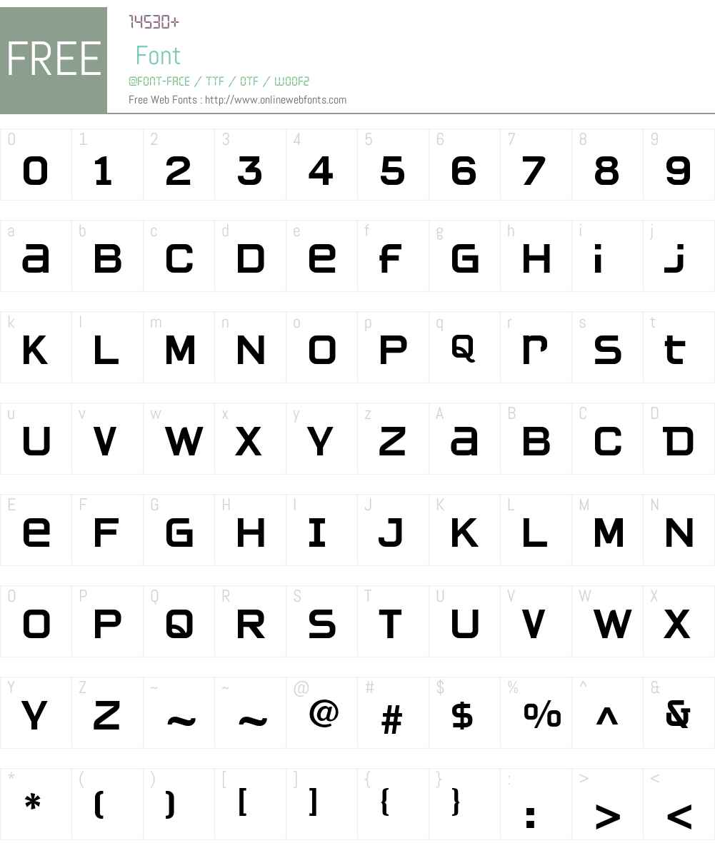 Quartan LT Std Font Screenshots