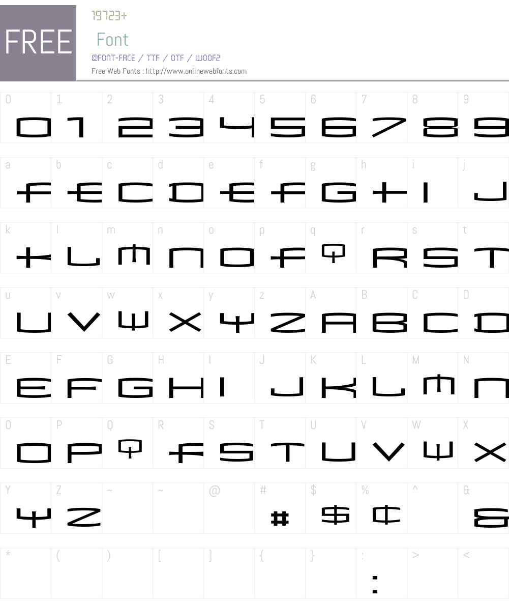 Mata Font Screenshots