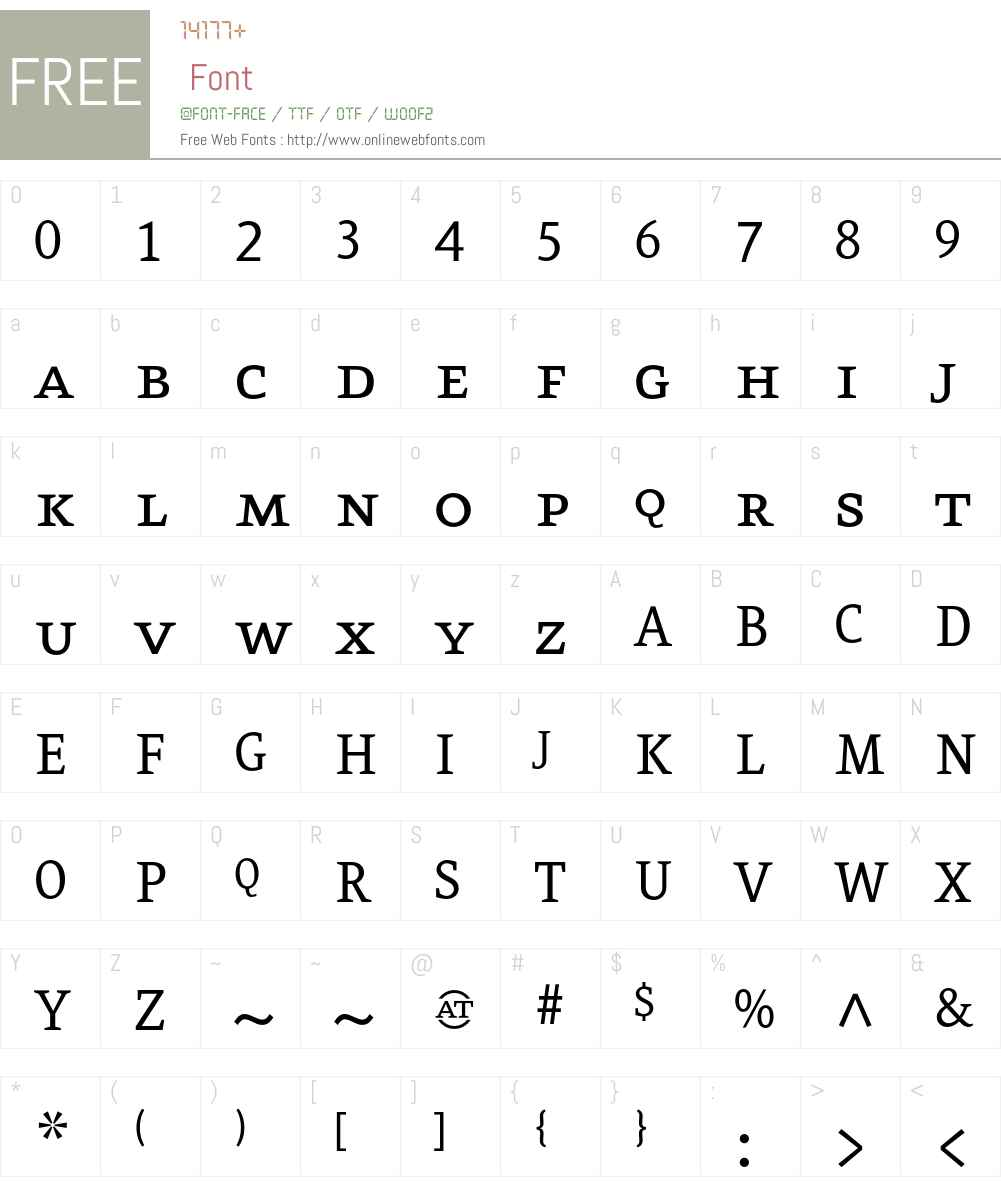 Eureka Font Screenshots