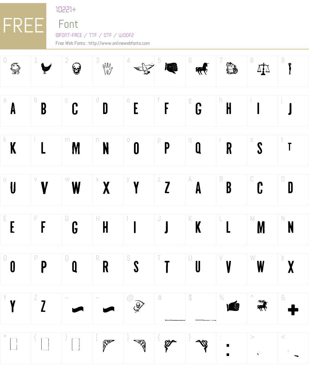 Volante Mexicano Font Screenshots