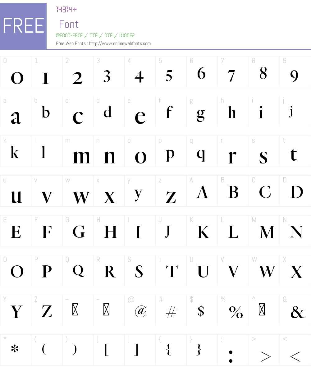 Quarto Medium Font Screenshots