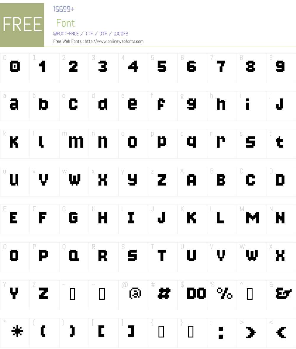 Bongonaut Font Screenshots