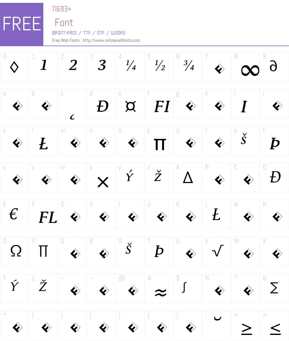 Parable-RegularSCItalicExp Font Screenshots