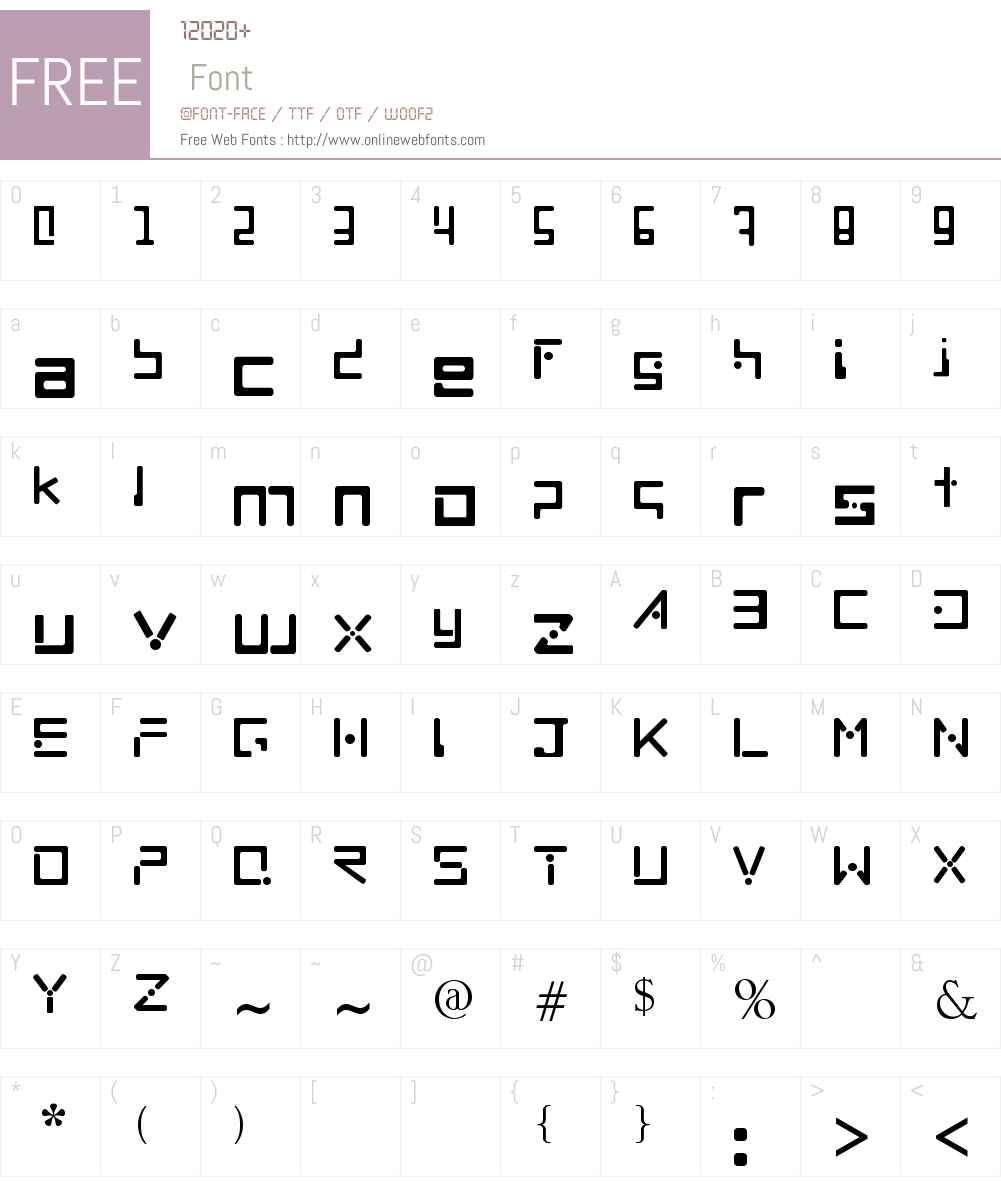MNML Font Screenshots