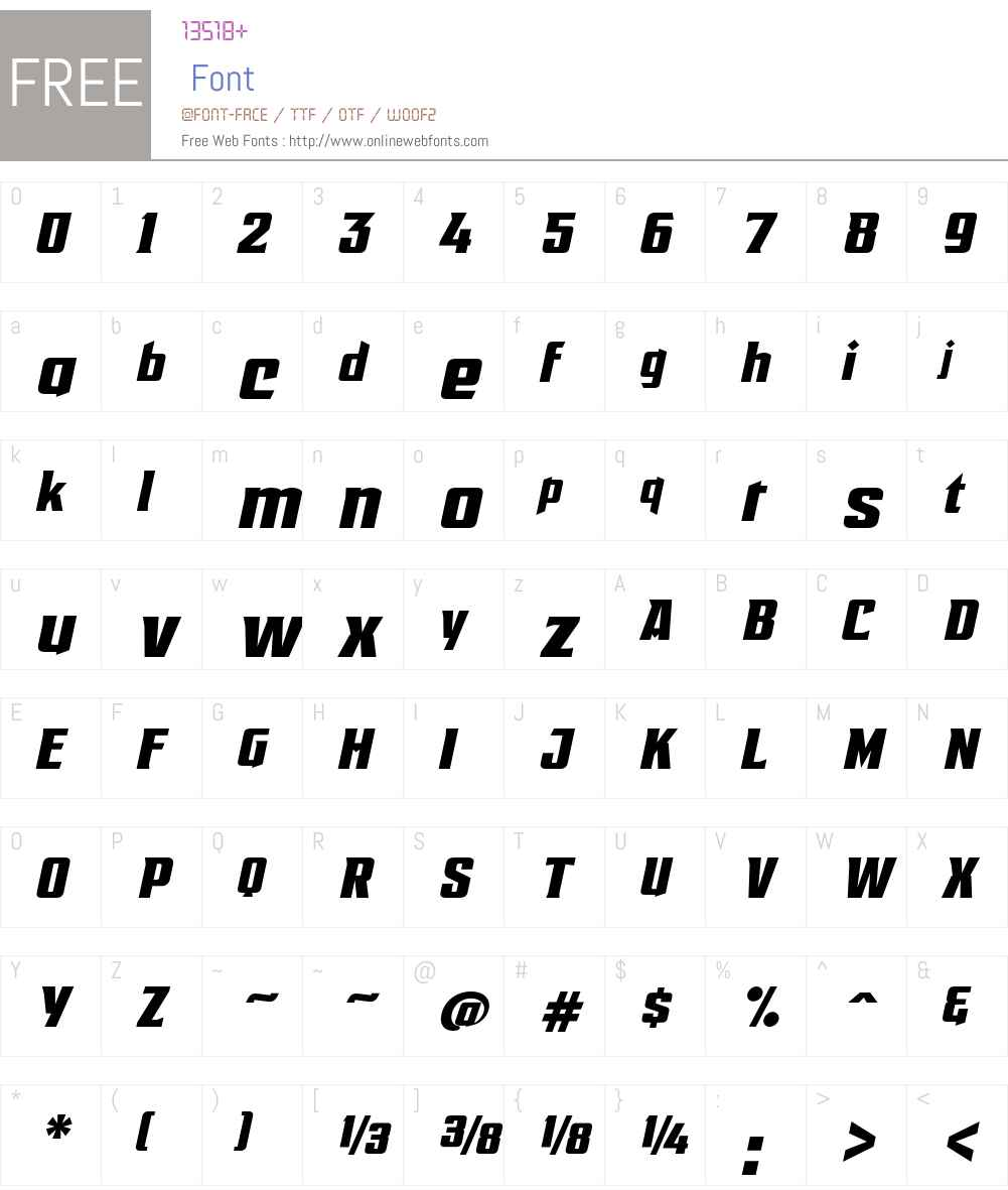 EARTHA.D.SpurredW01-Regular Font Screenshots
