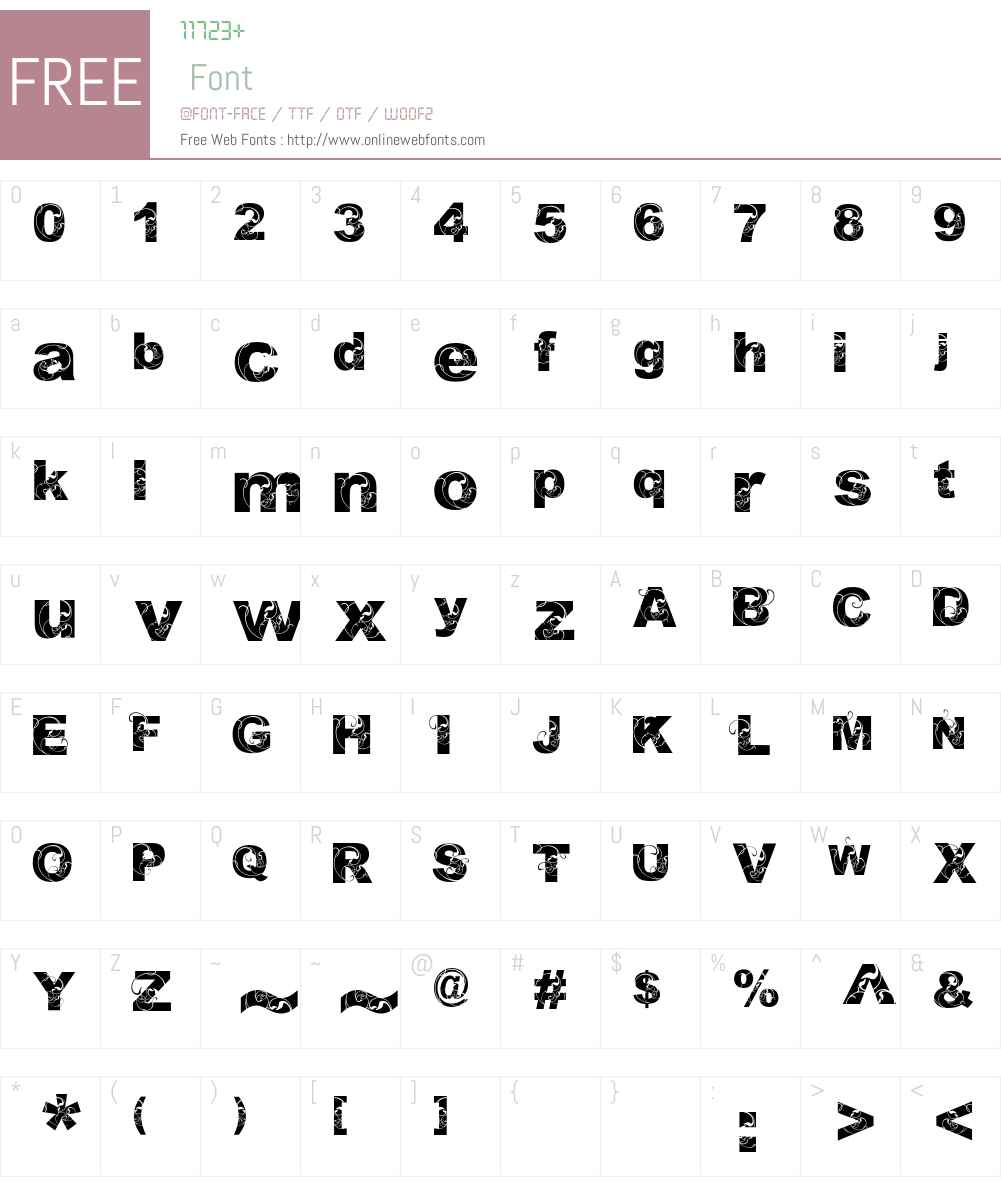 Orial_ Font Screenshots