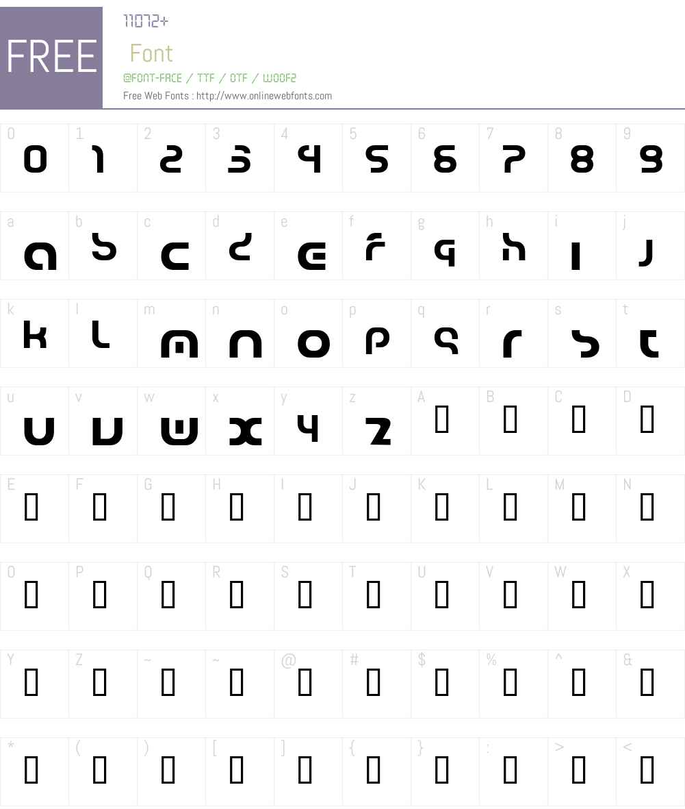jarah! Font Screenshots