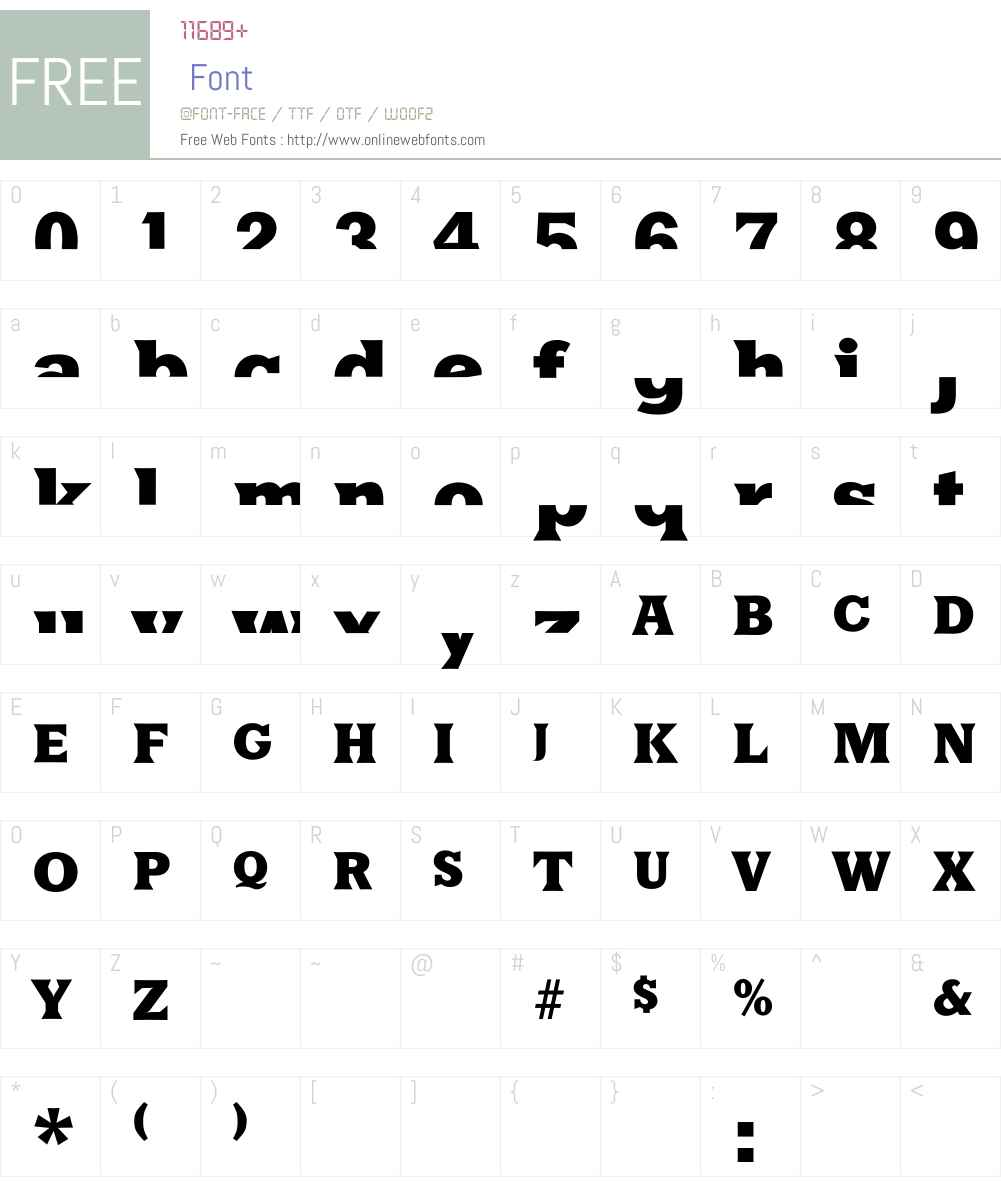 HalfsAreEnoughLatin Font Screenshots