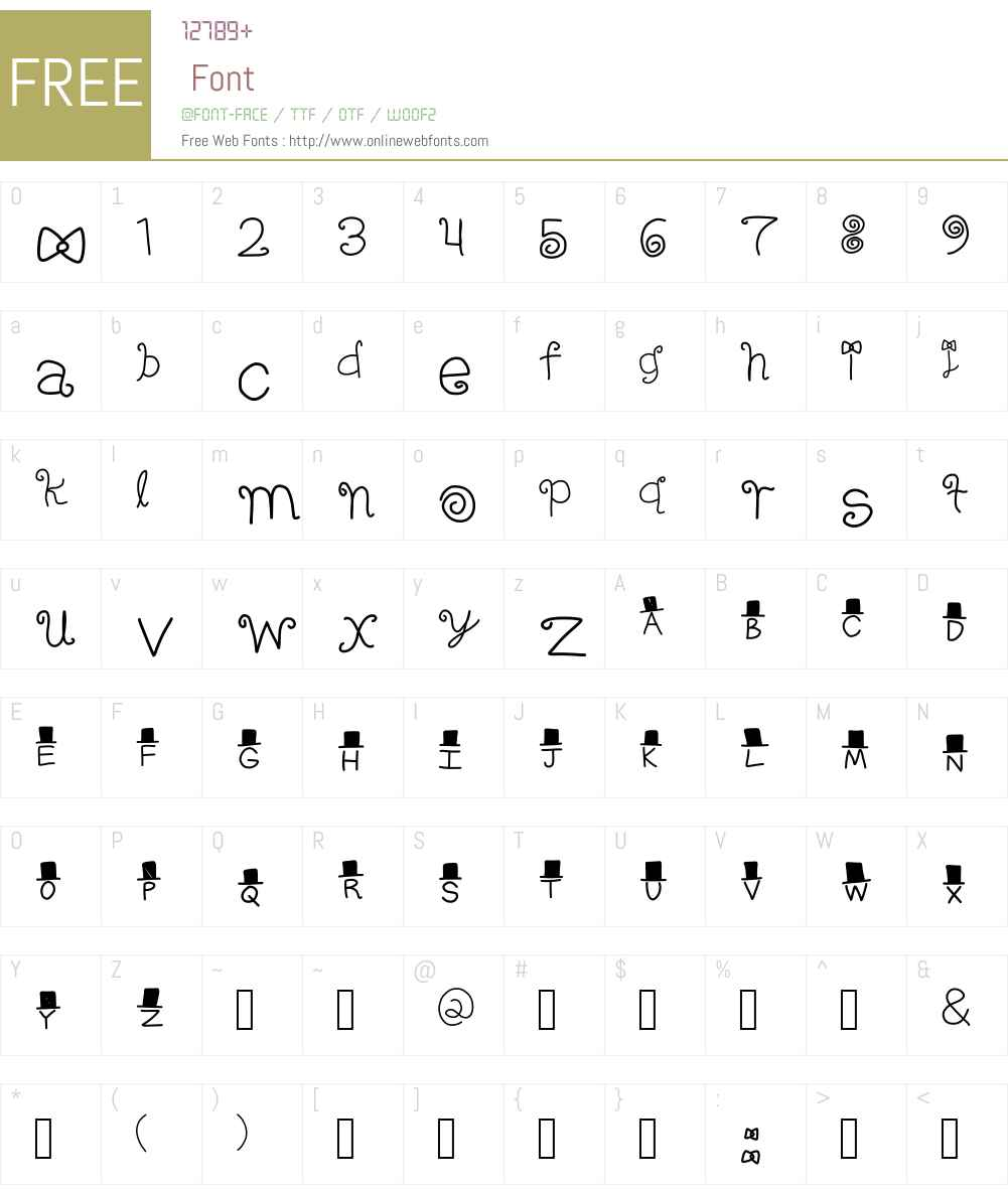 FANCY! Font Screenshots