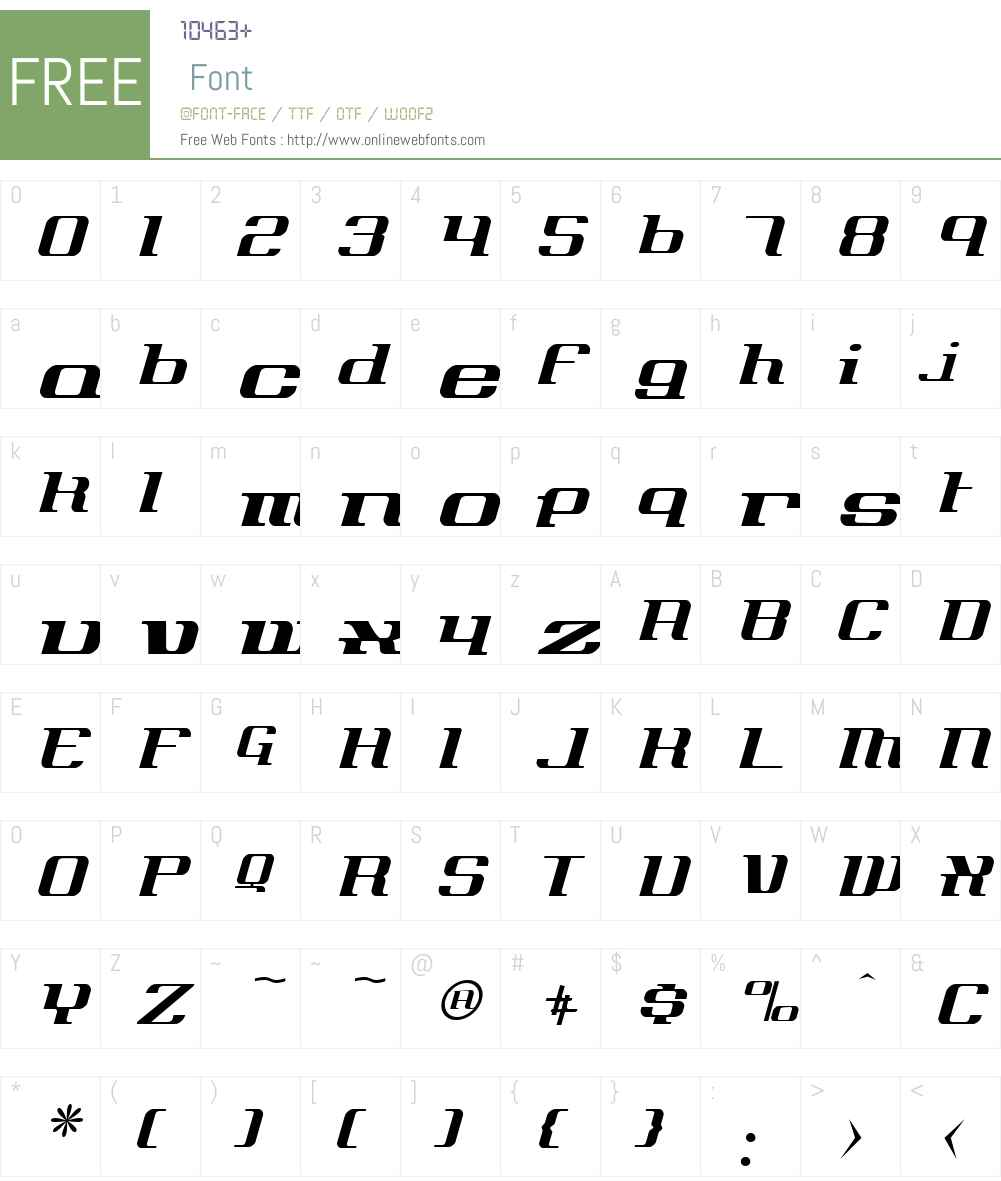 Axiom Font Screenshots