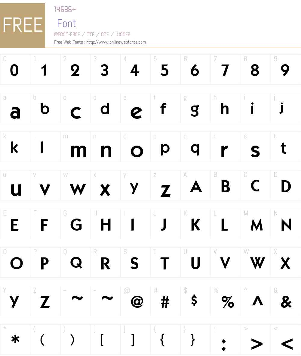 ITCKabelHellenicW15-Demi Font Screenshots