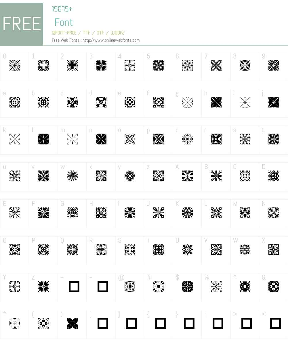 Kaleido2 Font Screenshots