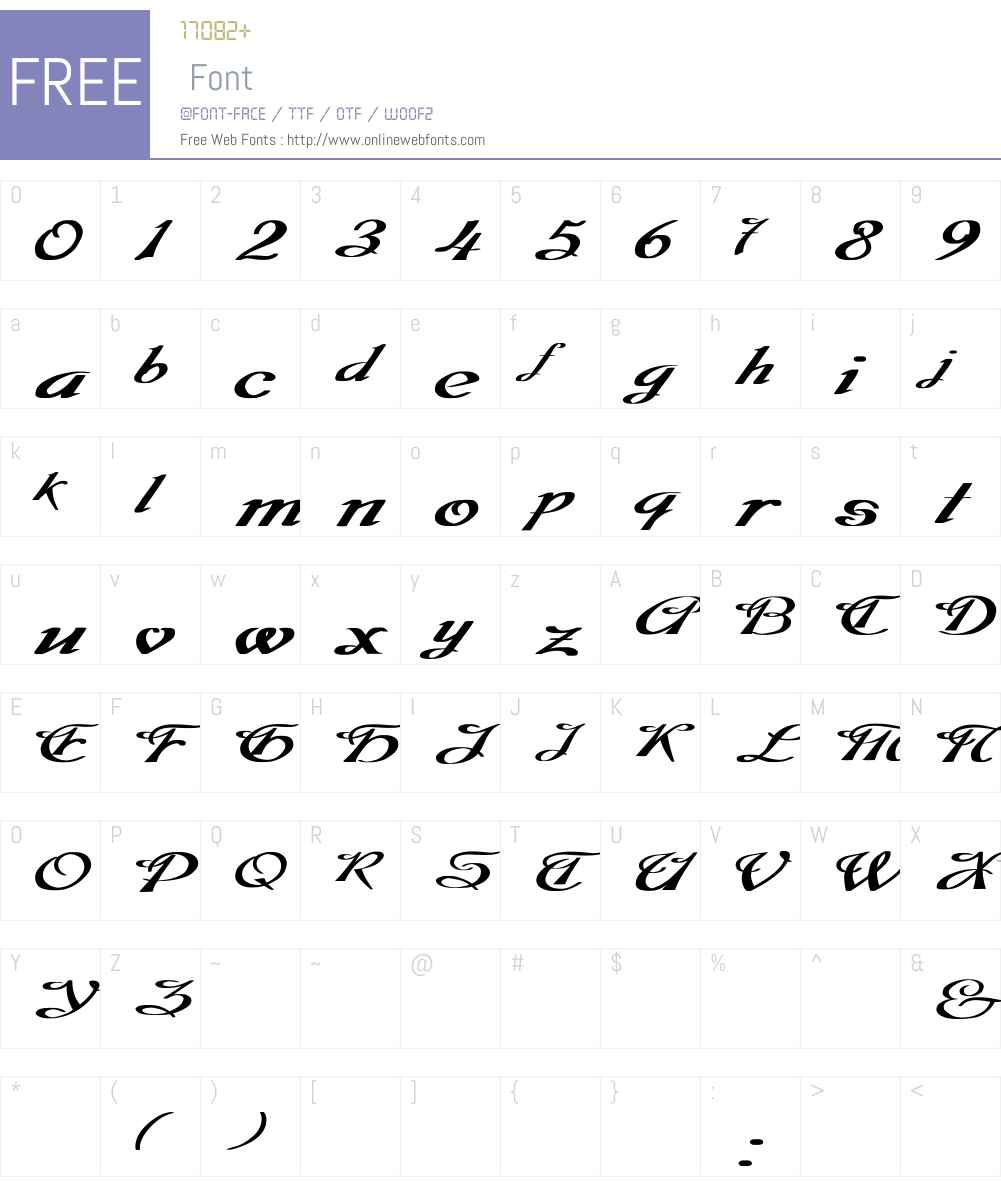 Dobkin Ex Bold Font Screenshots