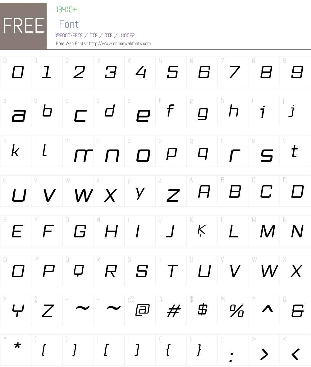 Vox Round Font Screenshots