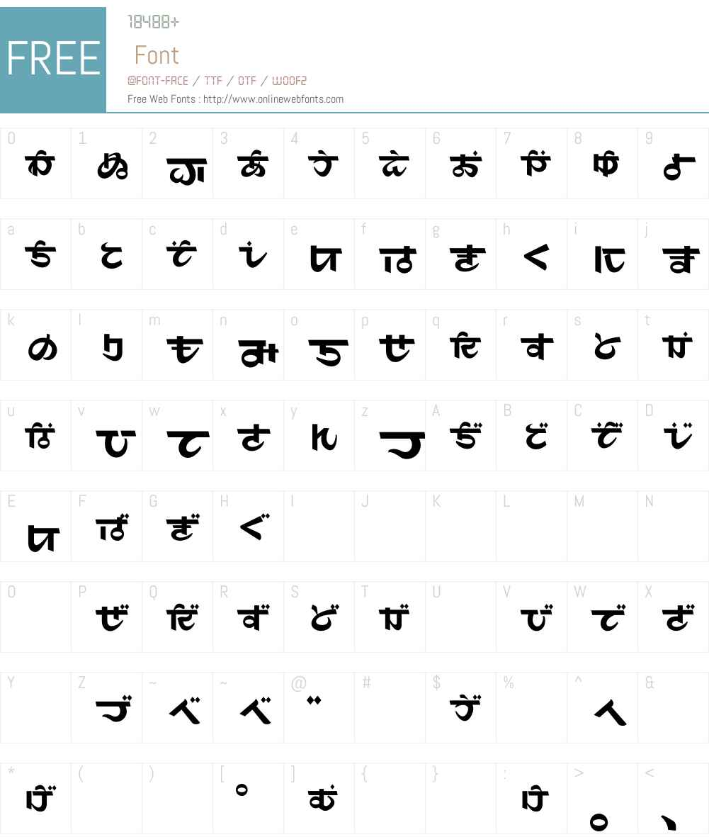 Maharani Font Screenshots