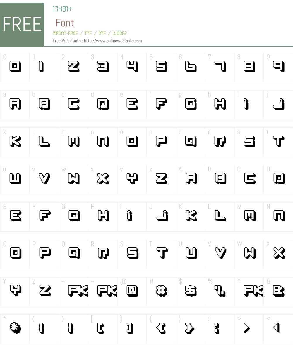 Spleen Machine Az Font Screenshots