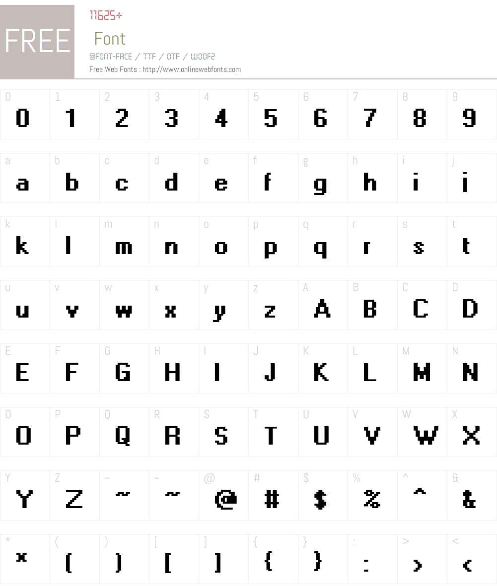 Levi Adobe Dia Font Screenshots