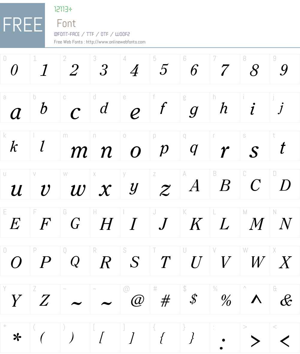 Bondoline Font Screenshots