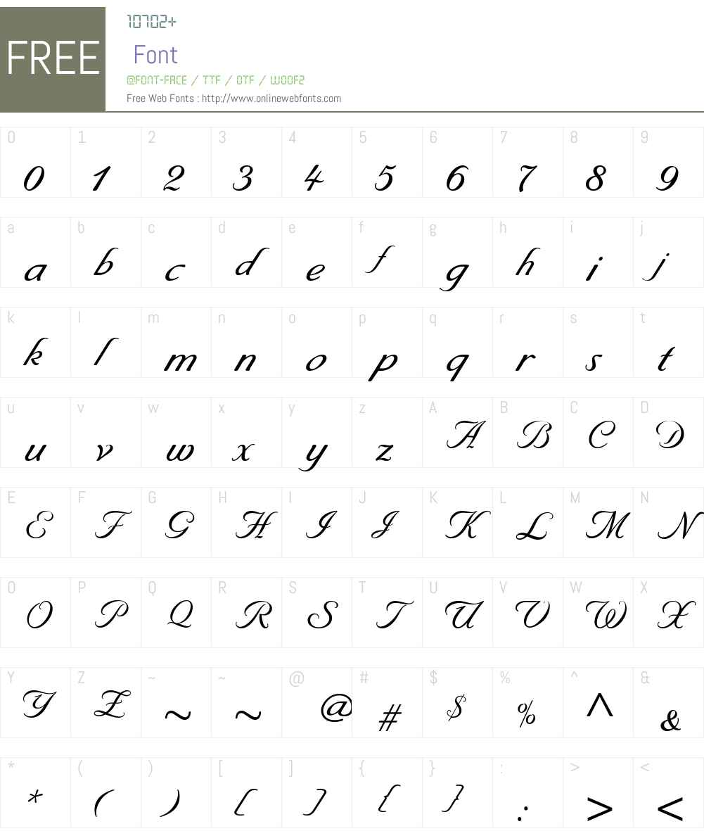 Byron Medium Font Screenshots