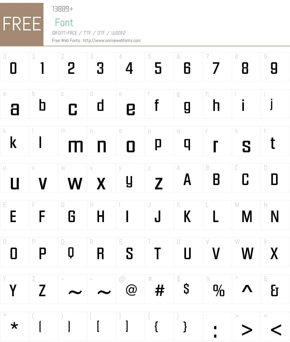 DiamanteEF Font Screenshots