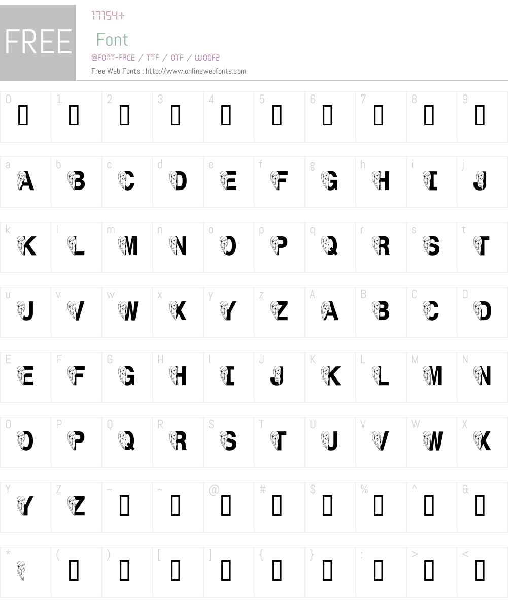LMS Face Forward Font Screenshots