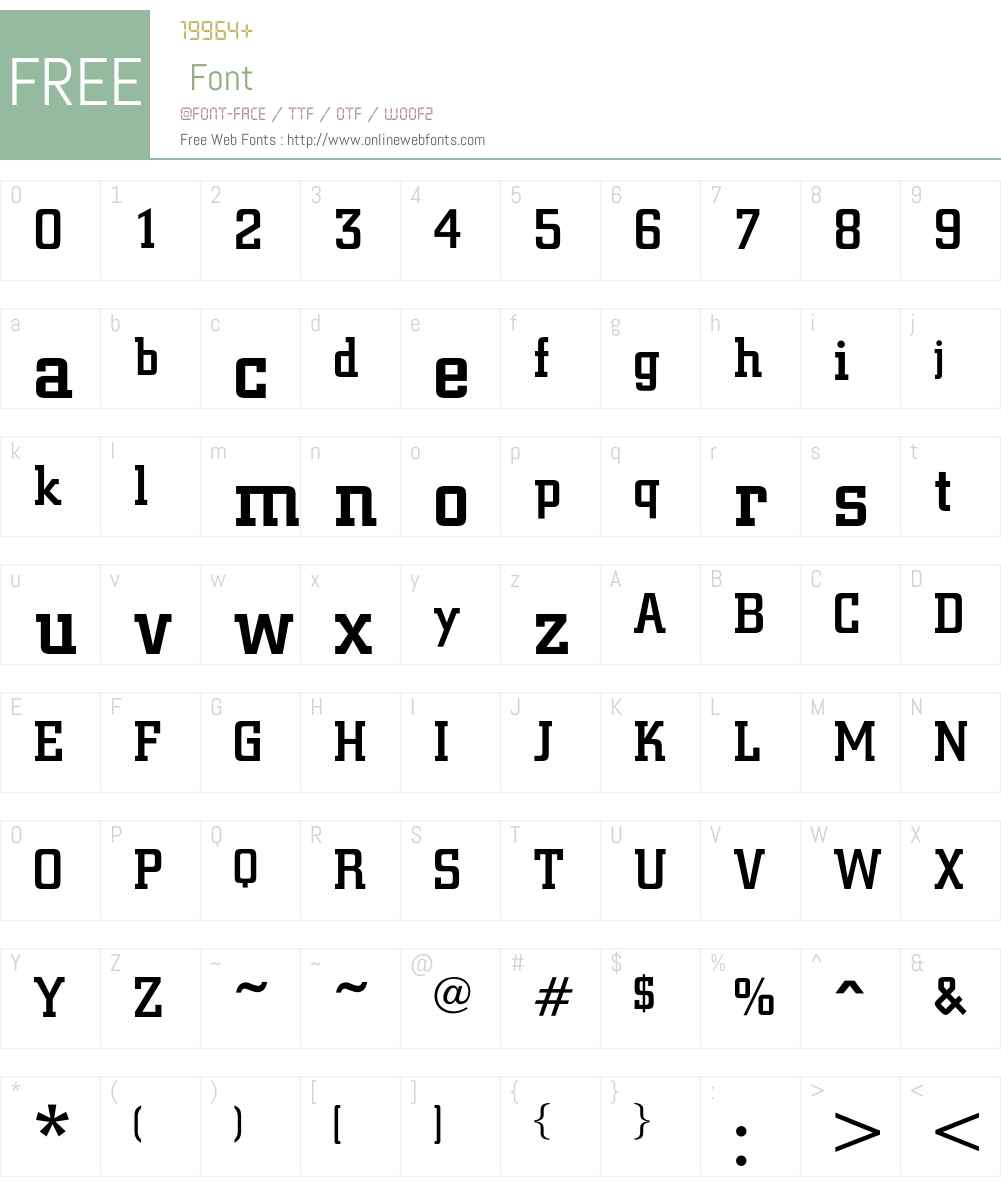 CyprusMedium Font Screenshots
